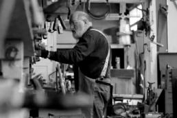 H.G 'Skip' Brack of Liberty Tools, Maine.