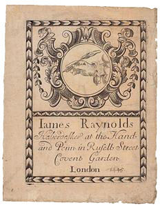 James Raynolds (trade card)