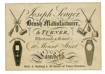 Joseph Seager (Trade card)