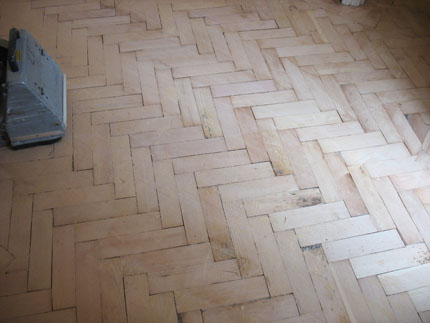 Sooner or later, you'll have a flat floor with a relatively smooth surface.