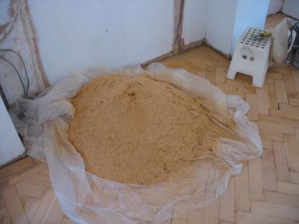 Anyone in Hackney need any sawdust?